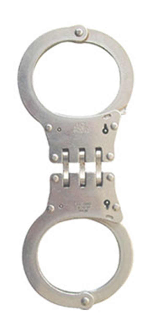 Handcuff with Double Locking and Rachet System for Police Department