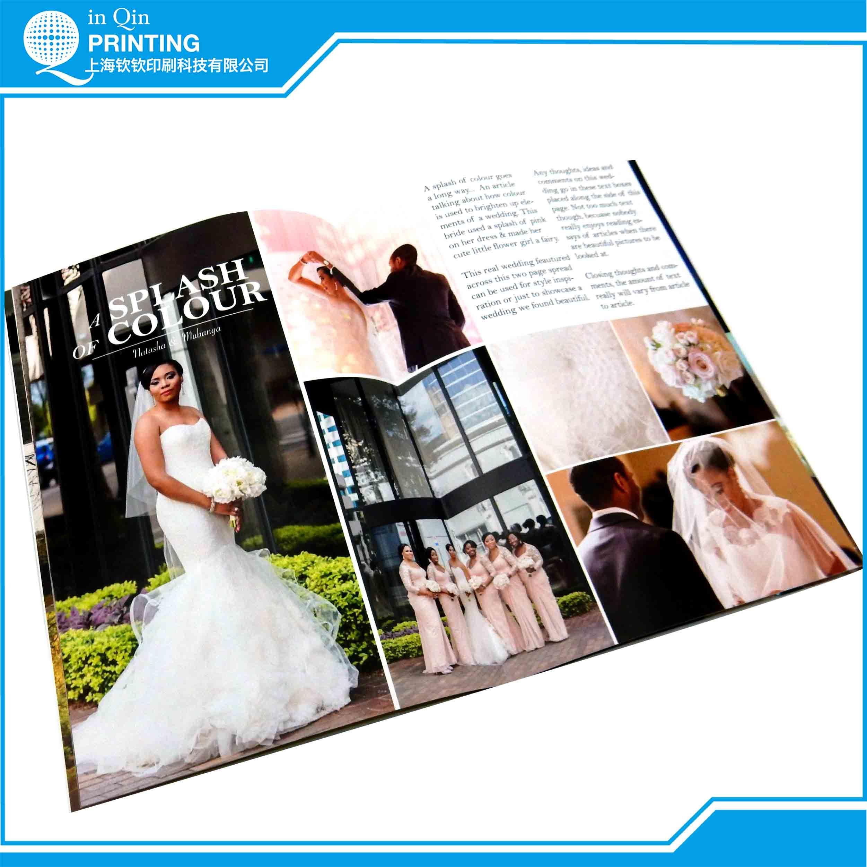 Print Customized Design Magazine in Shanghai China