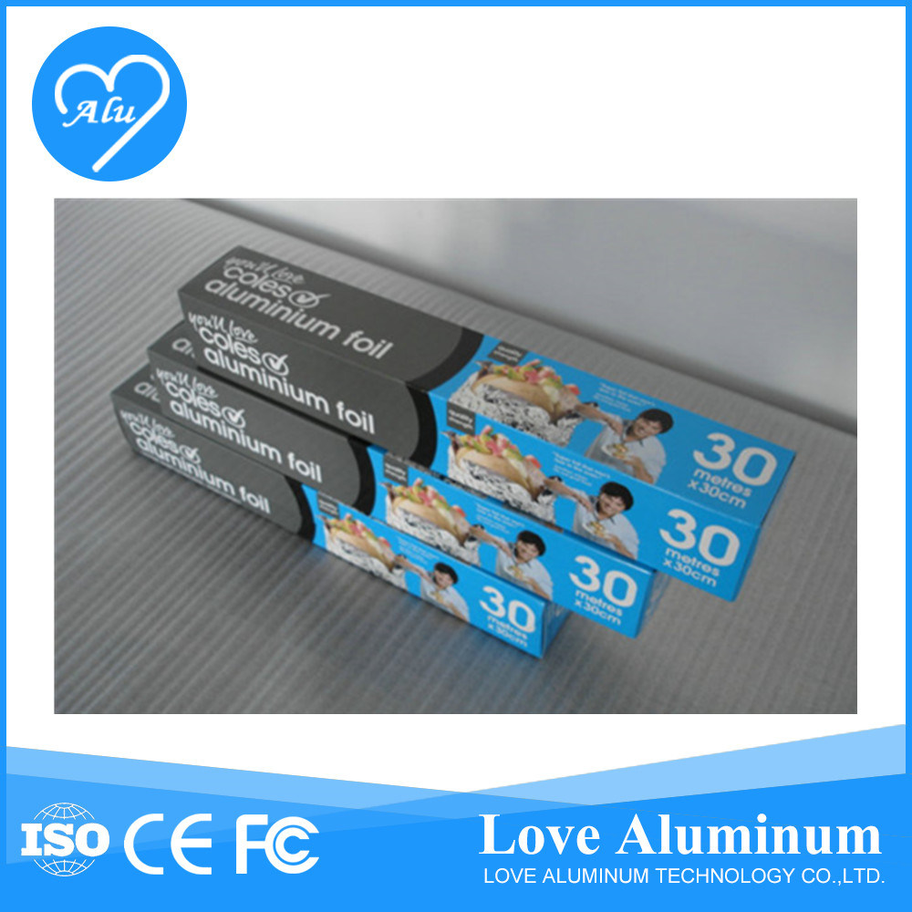 Aluminum Foil Jumbo Roll for Food Wrapping