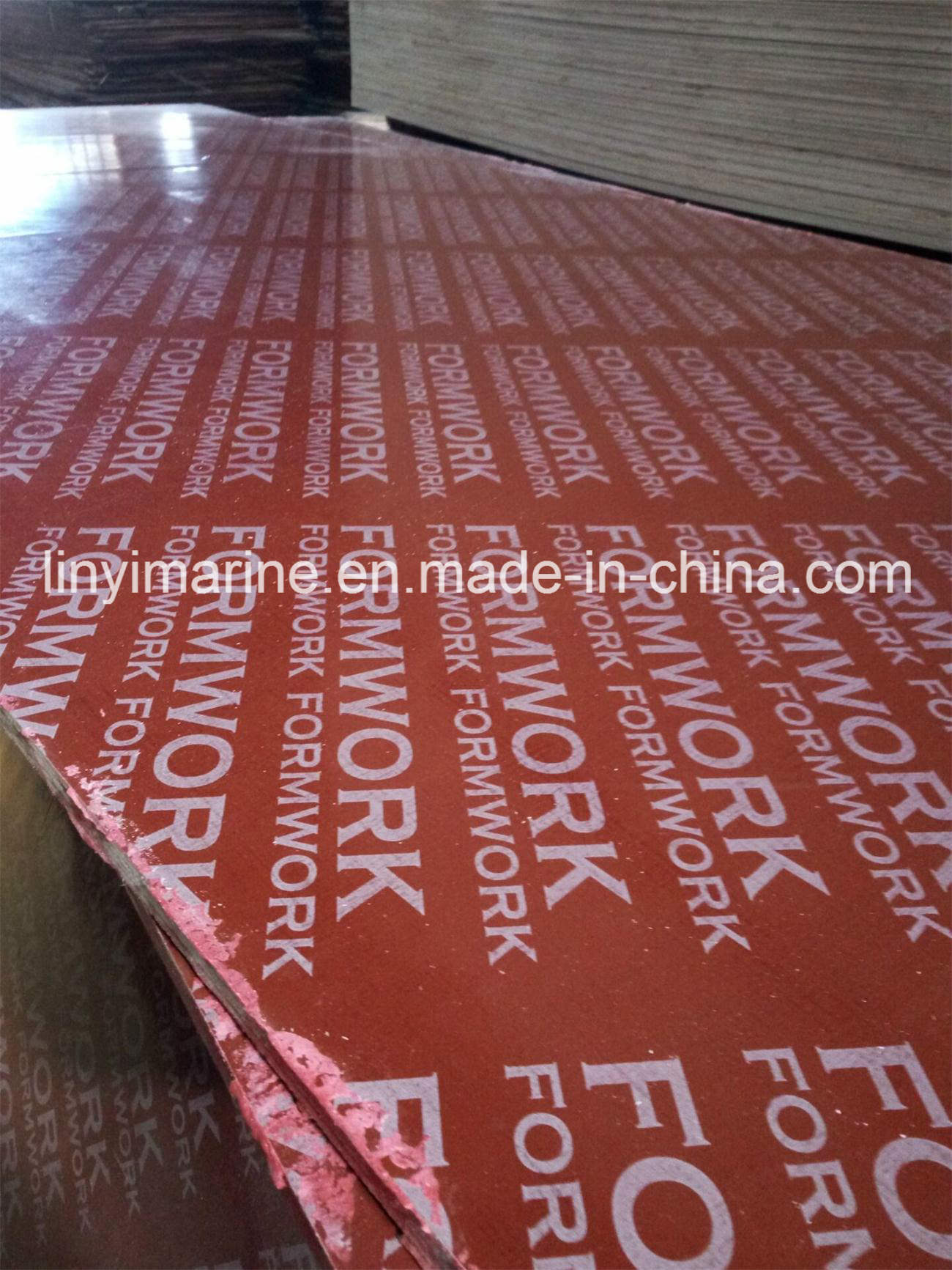 18mm Brown Film Faced Plywood WBP Glue Construction Material