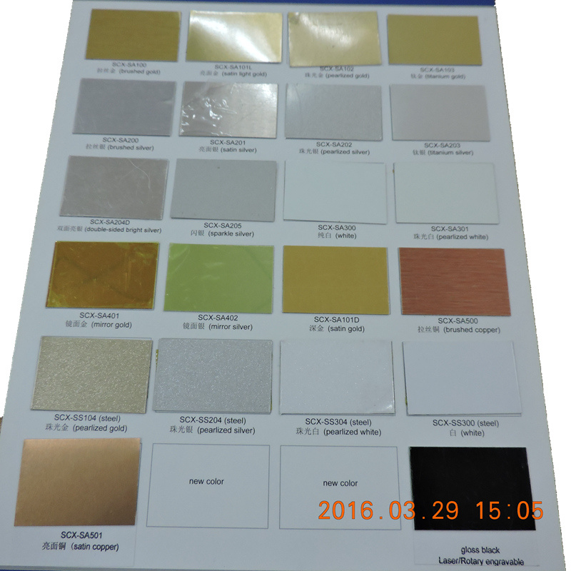 Coated Aluminum Sheet for Dye Sublimation Printing