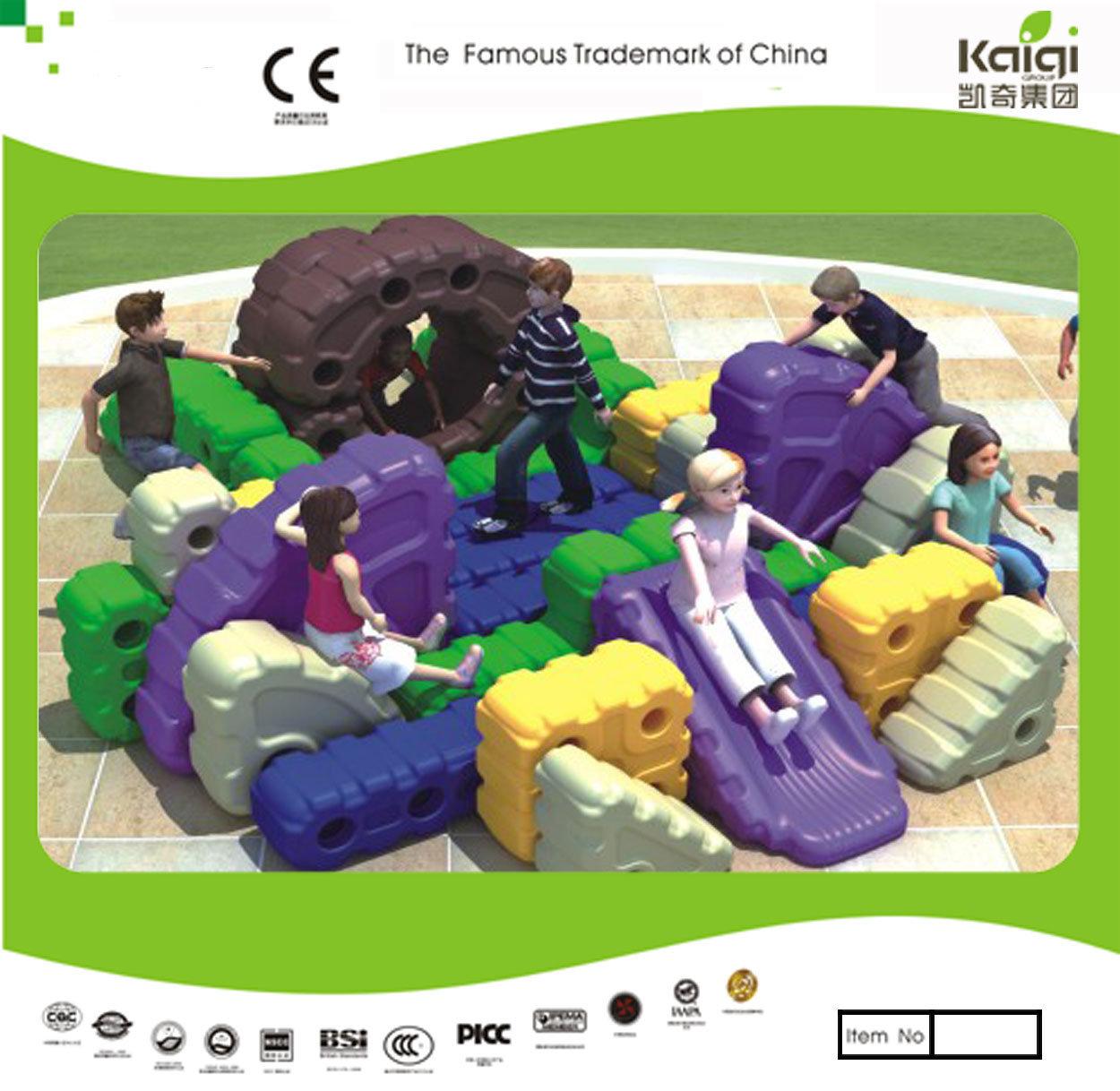 Kaiqi Group Hot Selling Plastic Tangram Block Toy (KQ50128F)