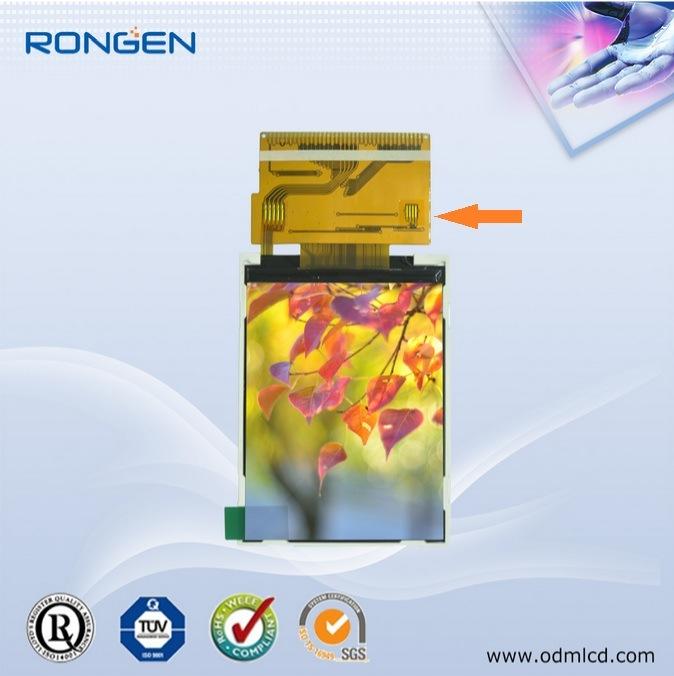 Rg-T280mtqi-03 2.8inch LCD Screen 240X320 Small Mobile Phone Display