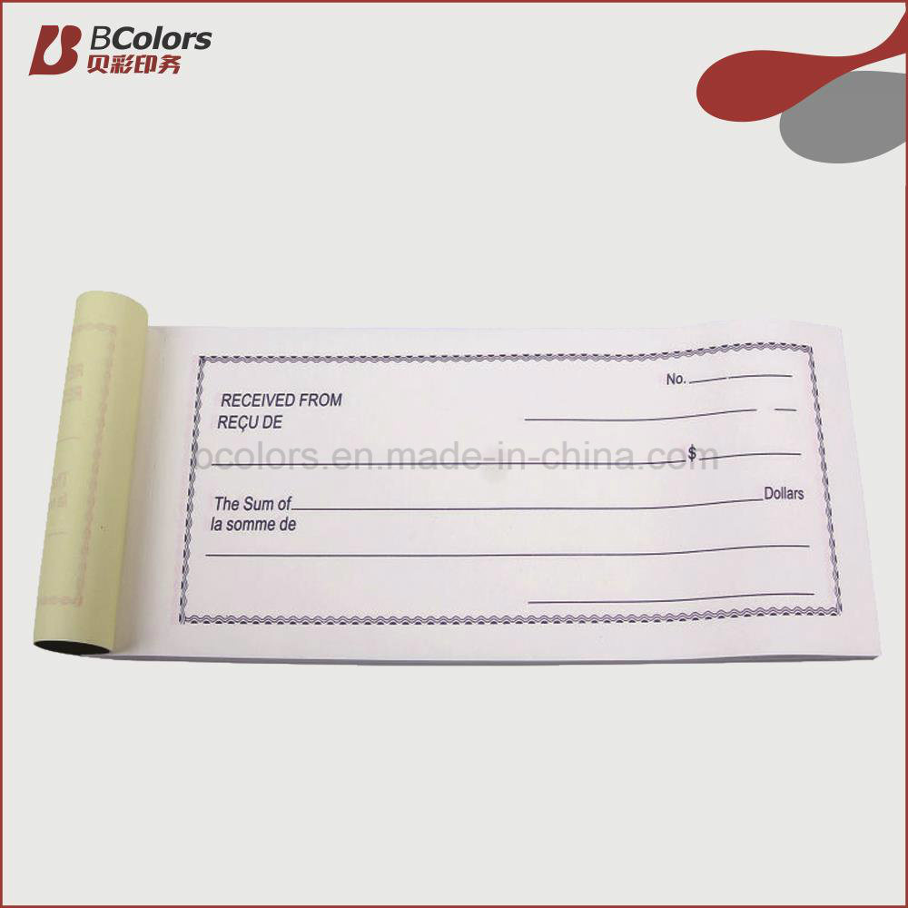 China Custom NCR Sales Receipt Books of Payment Hotel Bill – Payment Receipt Book