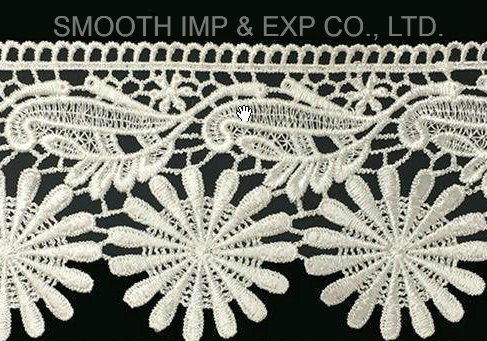 Embroidery Lace Clothing Home Textile Accessories Water Soluble Fabric