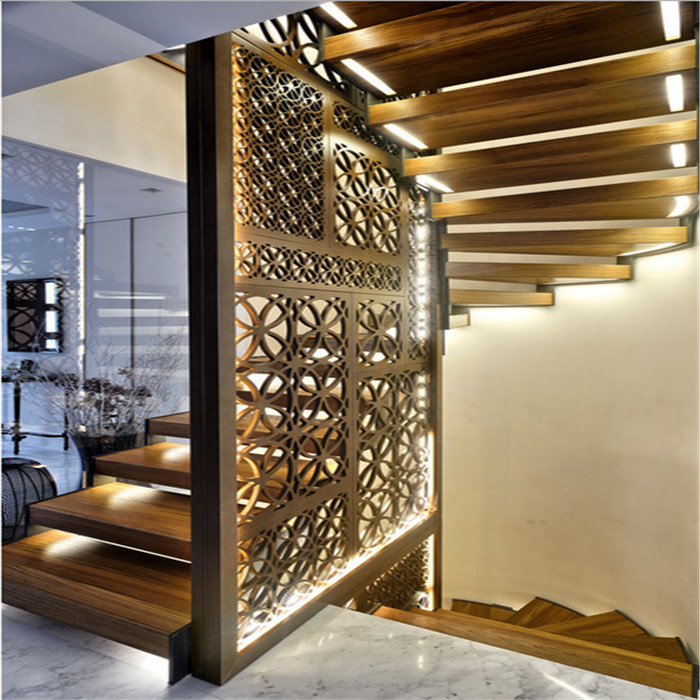 Building Materials Modern Metal Wall Panels Room Divider From China Supplier