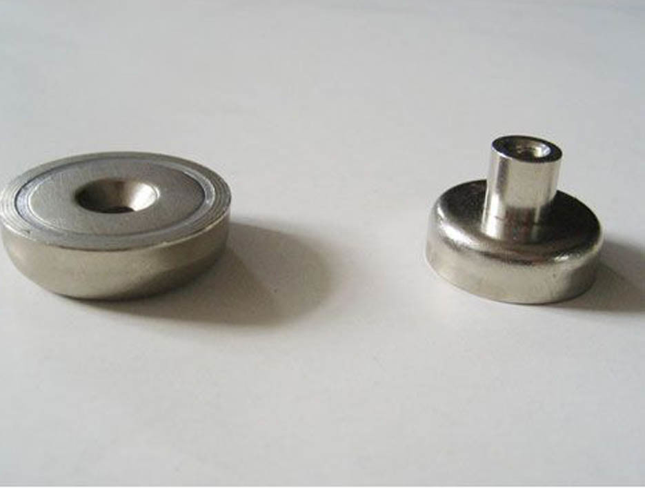 Permanent Neodymium Pot Magnet with RoHS