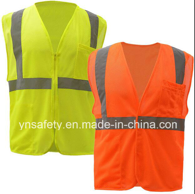 High Visibility Class2 Reflective Safety Vest From Factory