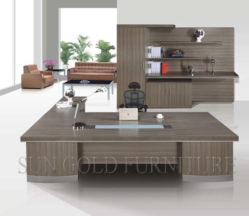 china luxury furniture modern executive desk office table design  - luxury furniture modern executive desk office table design (szod)
