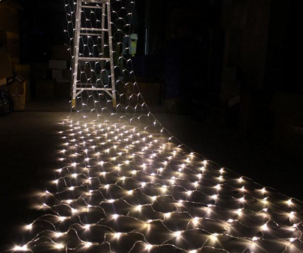 LED String Net Light Wedding Party Window Display
