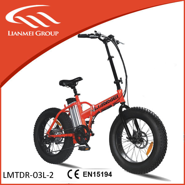 New Model Smart Electric Fat Folding Bike