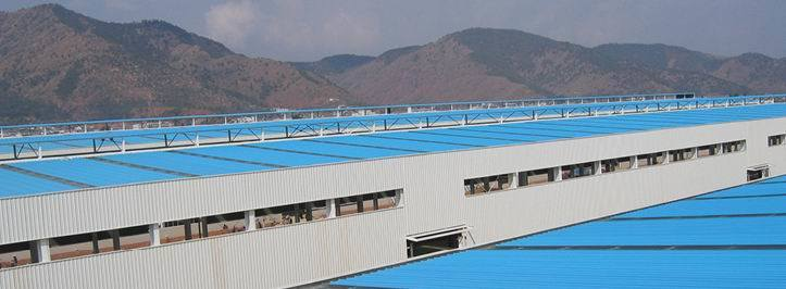 Asa-PVC Anti-Corrosive Composite Roof Tile