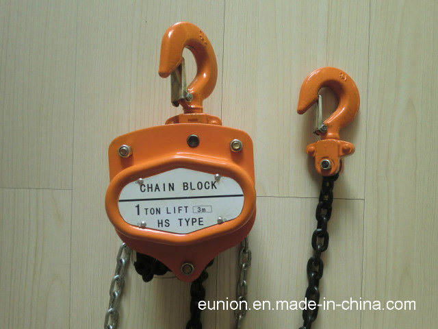 Vt619 Type Hand Chain Block