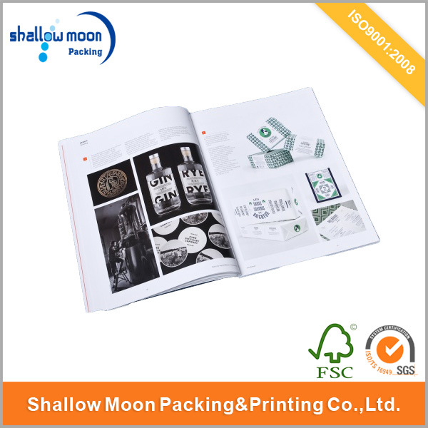 Customized Eco-Friendly Paper Book Printing (QYCI15153)
