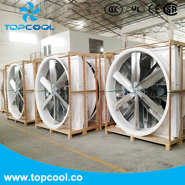 """GF 72"""" Exhaust Fan with PVC Shutter for Livestock or Industry Application!"""