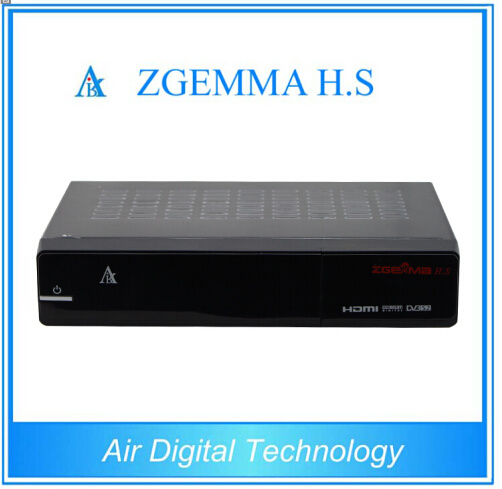HD Full 1080P Zgemma H. S Single Tuner DVB-S2 Satellite TV Receiver Webtv Internet TV Set Top Box