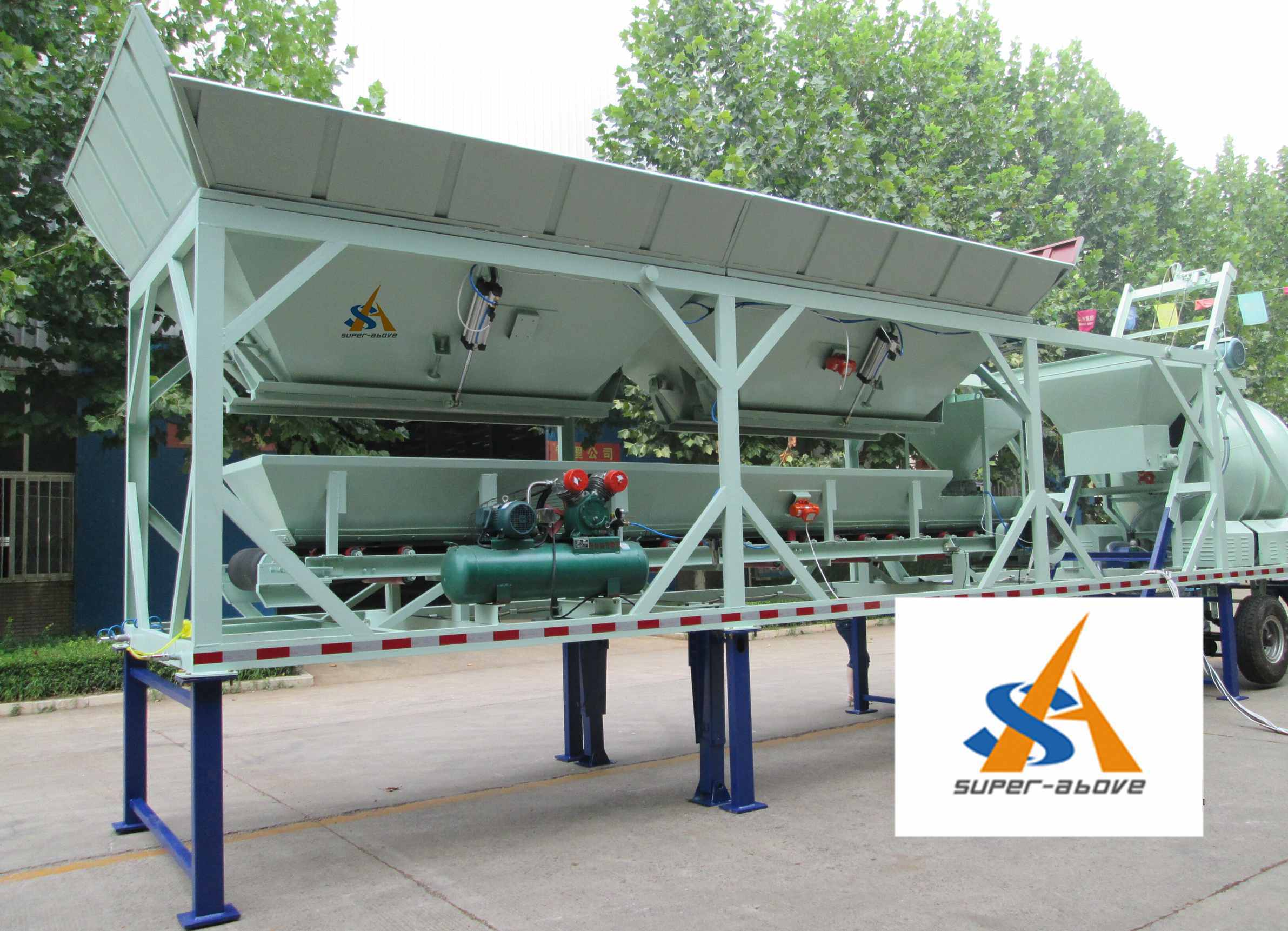 Mobile Concrete Mixing Plant, Concrete Batching Plant