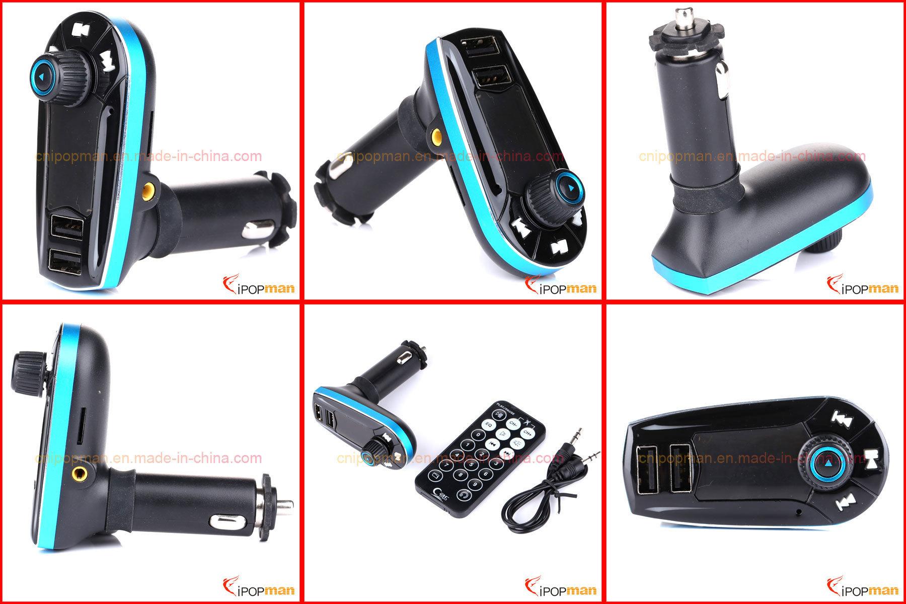 Battery Powered FM Transmitter, Bluetooth Car MP3