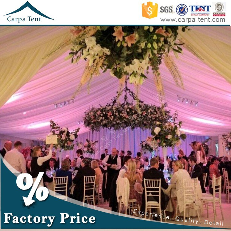 20*40m Luxury Decorated Party Wedding Tents for Sale in Guangzhou