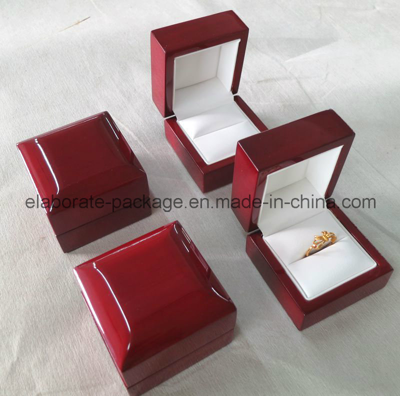 Classics Cherry Piano Glossy Wood Ring Box