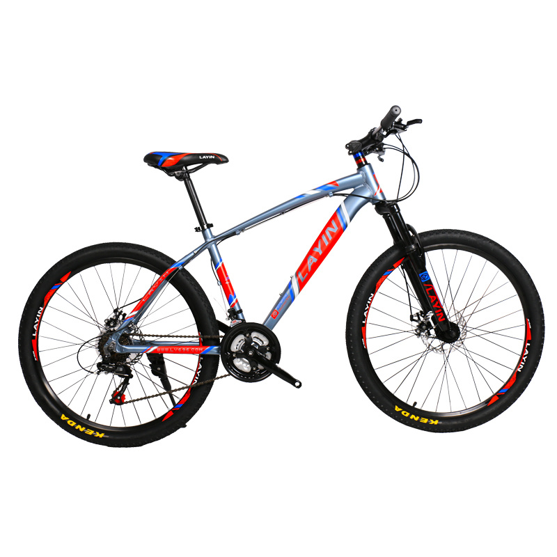Bicycle Factory 21-Speed Shimano Derailleur Aluminum Alloy Mountain Bike