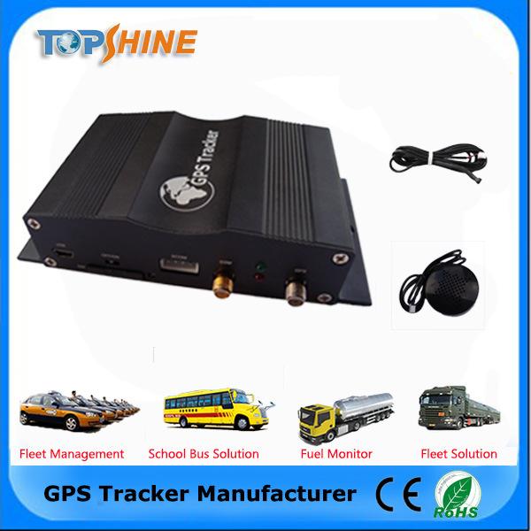 Real GPS Tracker Vehicle Tracker Fleet Management with Ota/RFID Reader/Camera Vt1000