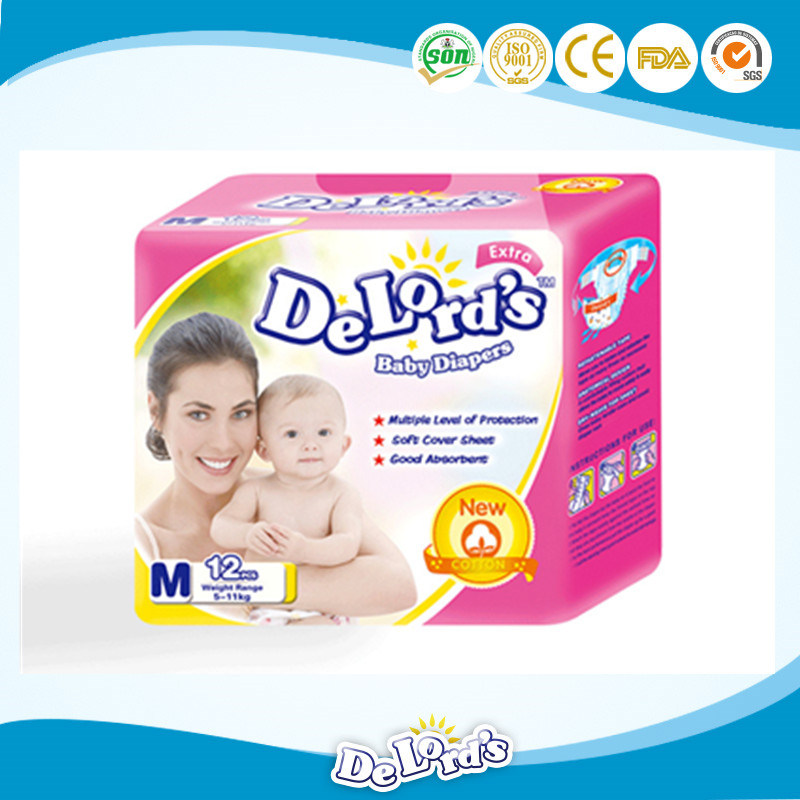 Free Sample Little Angel Baby Diapers
