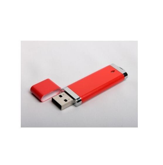 Concise Style Rectangle Plastic USB 1GB 2GB 4GB