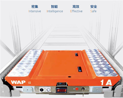 Automatic Pallet Shuttle with Wireless Remote Control