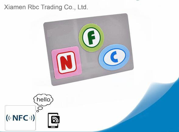Quality Logo Printing Ntag 215/216 NFC Inlay RFID Tag Labels