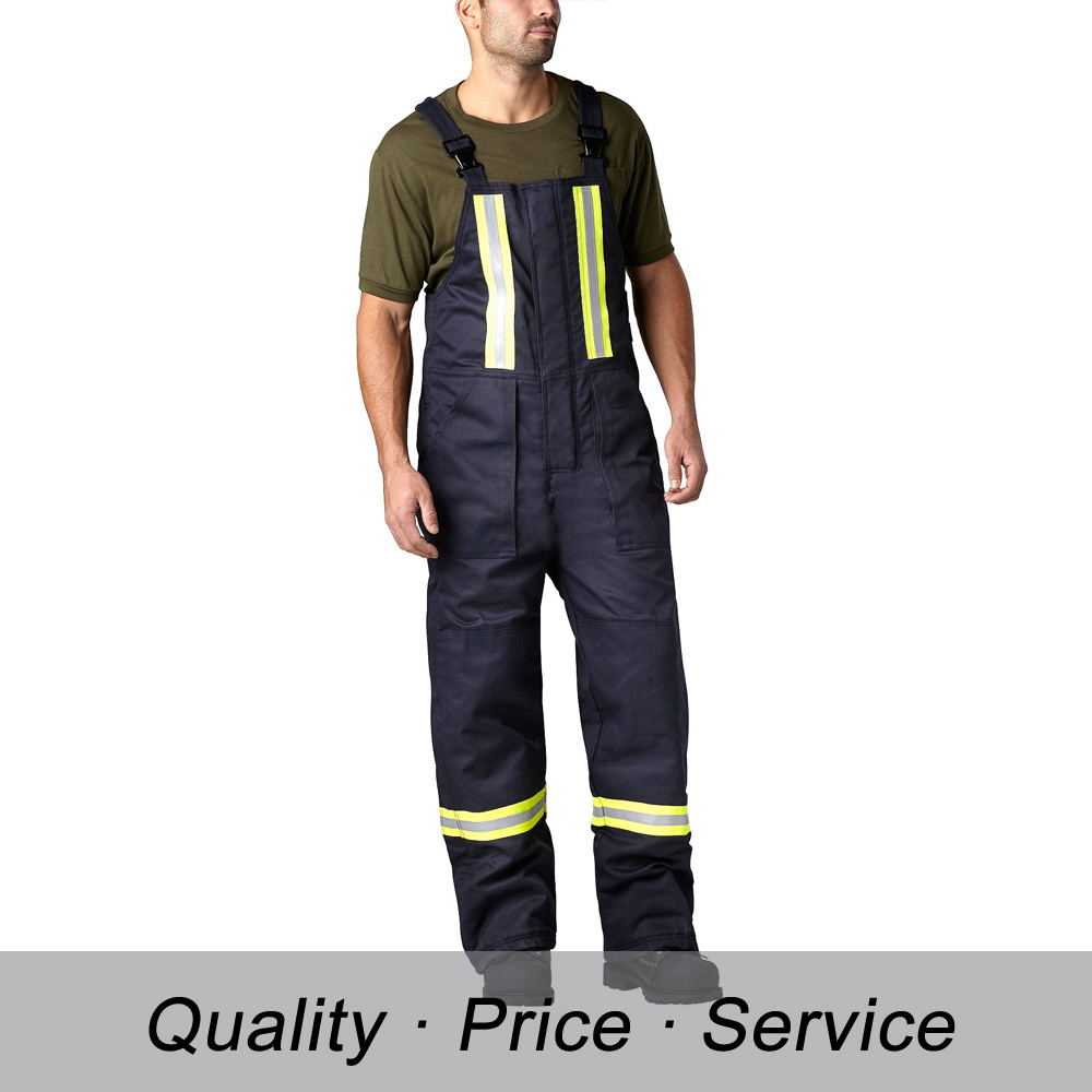 Custom Made Warm High Visibility Black Jumpsuit for Adult