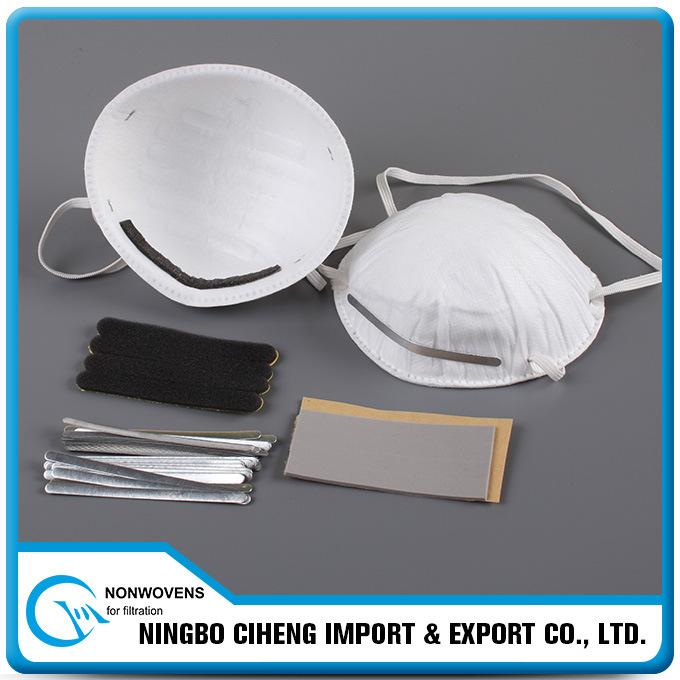 Nosepads Respirator Accessories Rectangle Latex Soft Nose Foam