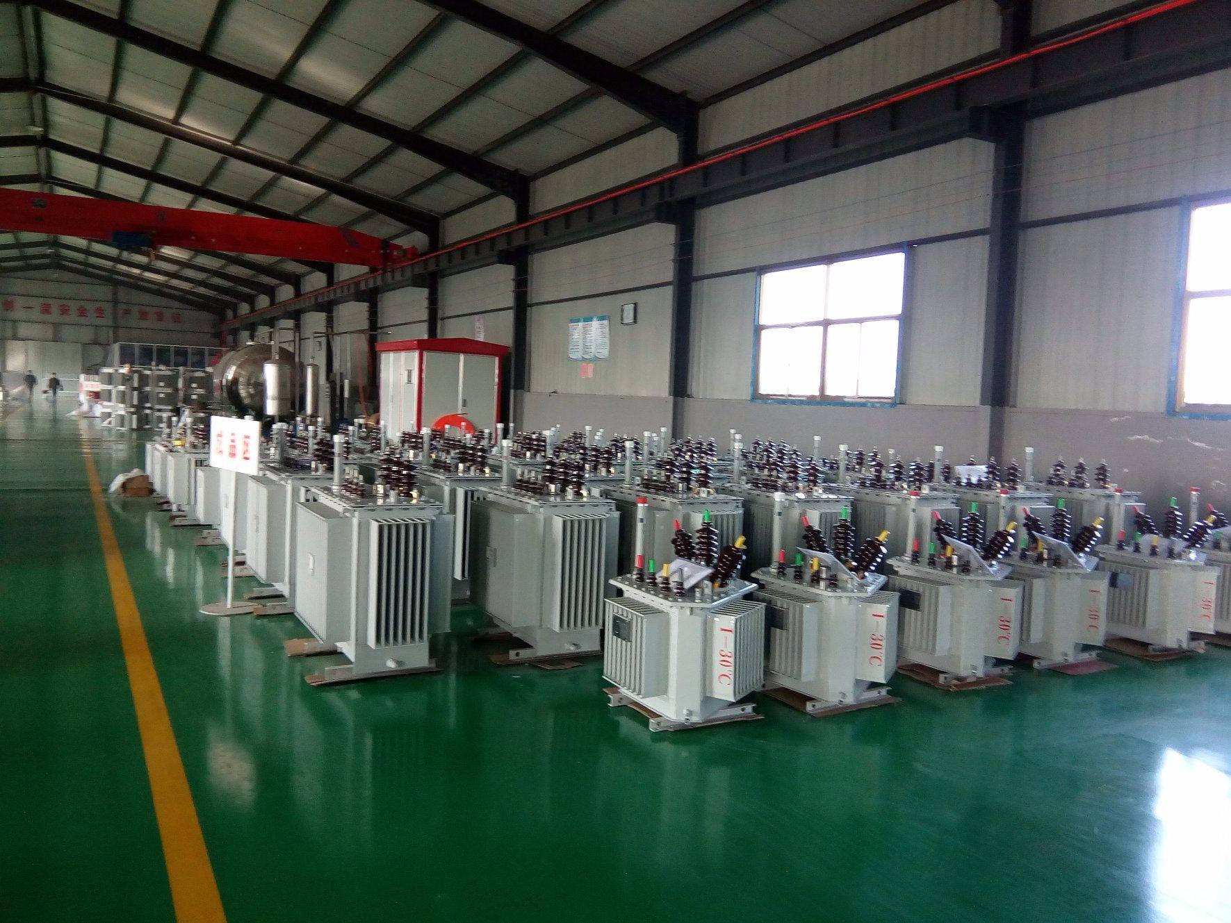 S11 30-2500 kVA Three-Phase 10kv Oil-Immersed Laminated Core Type Fully-Sealed Energy Saving Power/Distribution Transformer