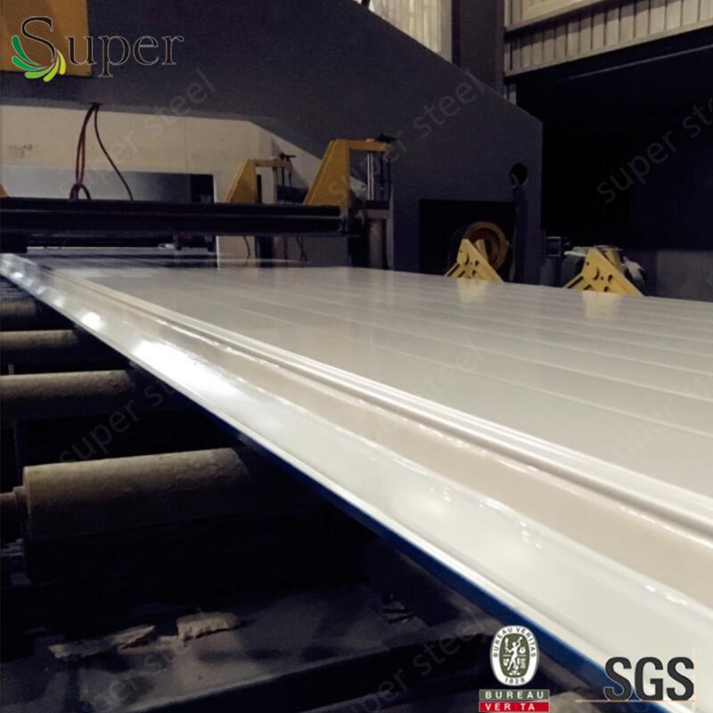 Prepainted Galvanized Steel PU Sandwich Wall Panel