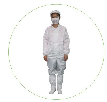 Nomex ESD Cleanroom Garment Working Apparel Cleanroom Jacket