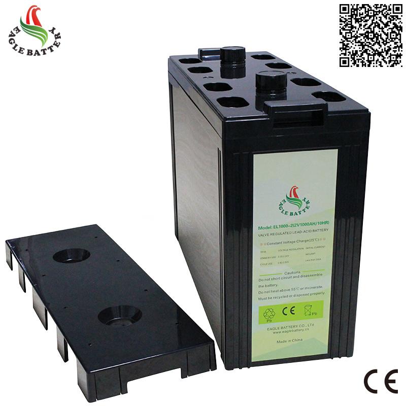 2V 1000ah Storage Deep Cycle Lead Acid Battery