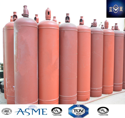 90kg Portable Empty Refillable Steel Welding Gas Cylinder
