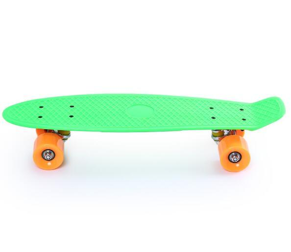 Popular Mini Cruiser Plastic Fish Skateboard All Color Available