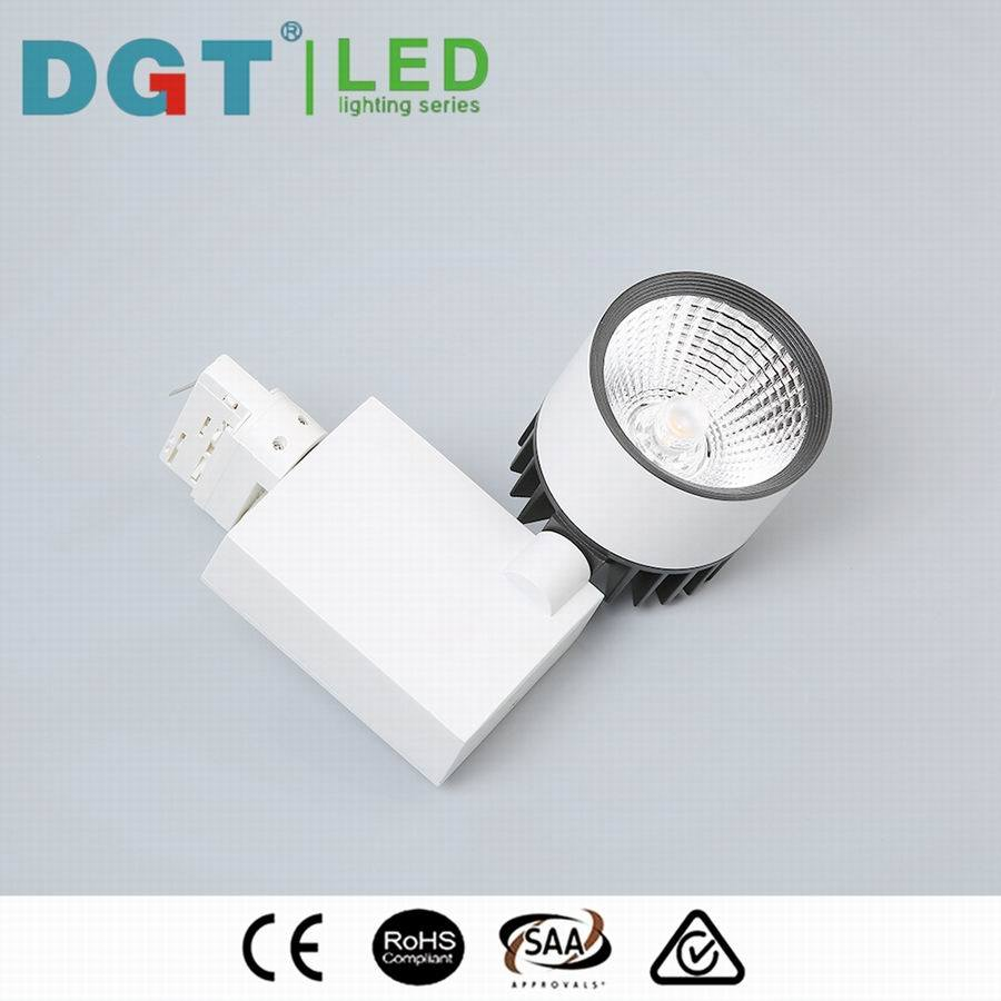 2/3 Circuit Options Spot Light Lens 30W COB LED Tracklight