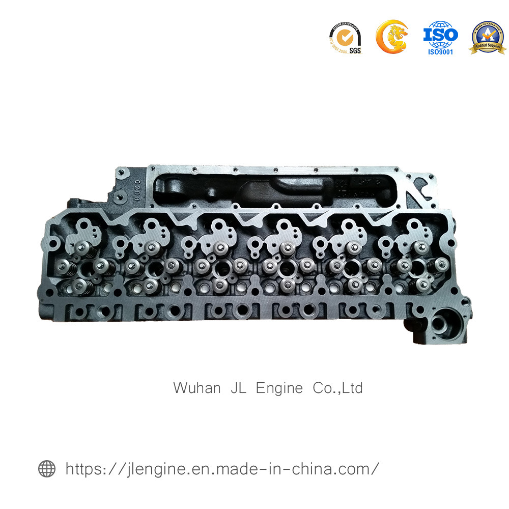 Isbe Cylinder Head with Two Small Hole Qsb6.9 Engine Parts