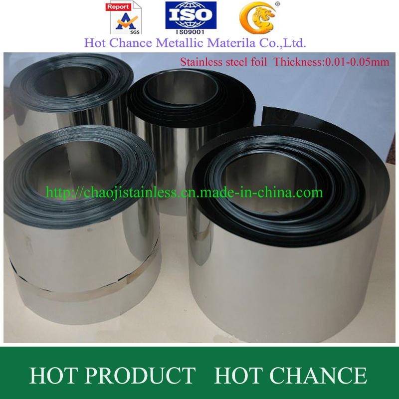 ASTM A554 301, 304, 316 Stinless Steel Foil
