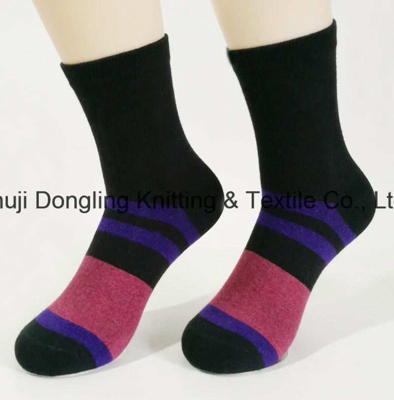 China Socks Factory Cotton Custom Logo Dress Men Socks