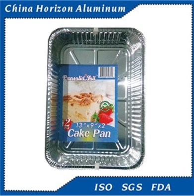 Alloy 8011-O 70micron Household Aluminum Foil Tray