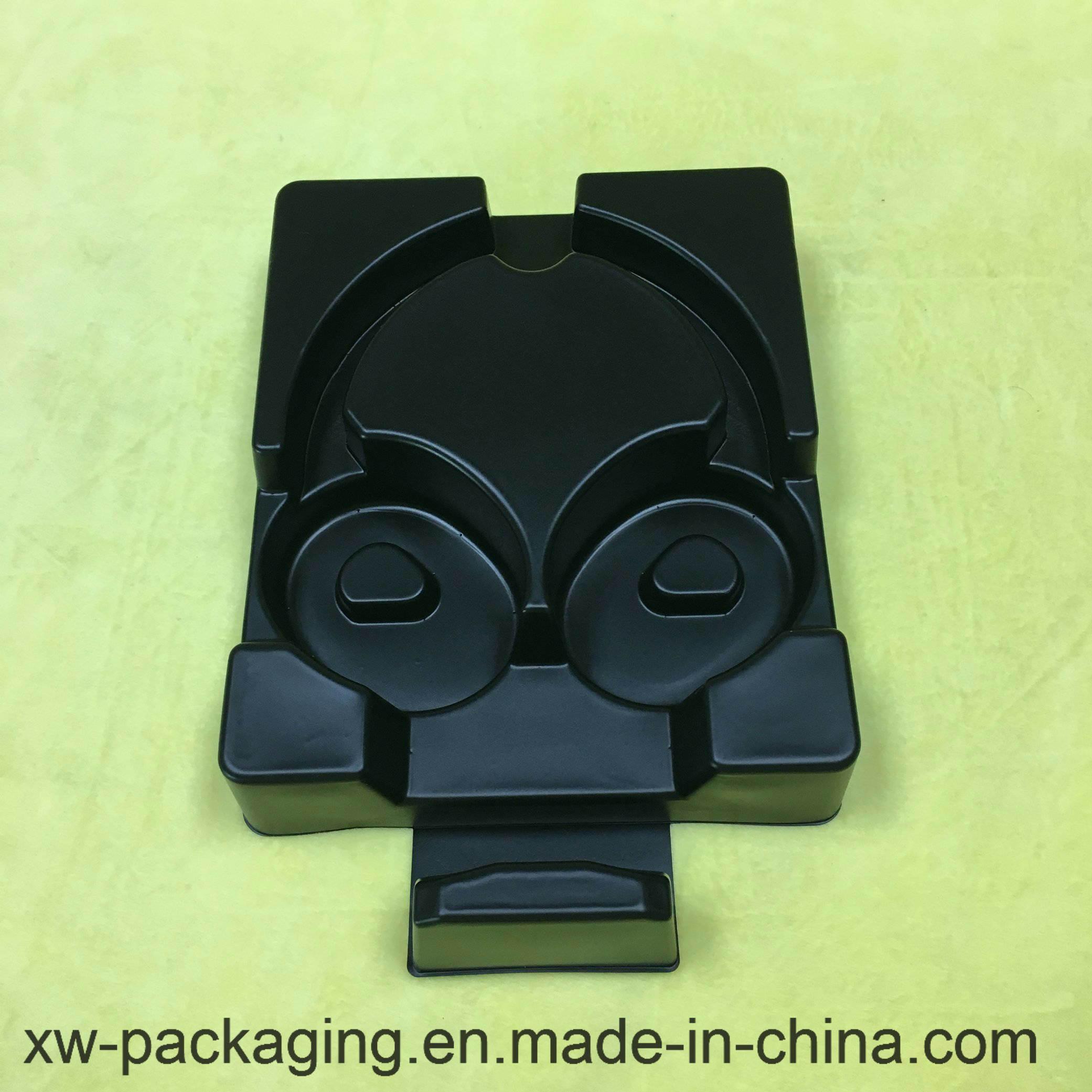 Black Blister Packing Tray for Headset