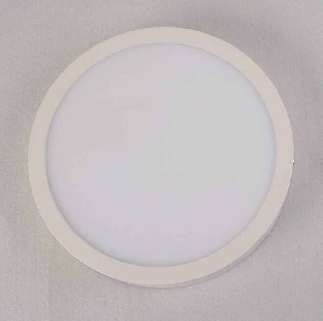 High Brightness 18W Round Surface Mounted LED Panel Light for Home