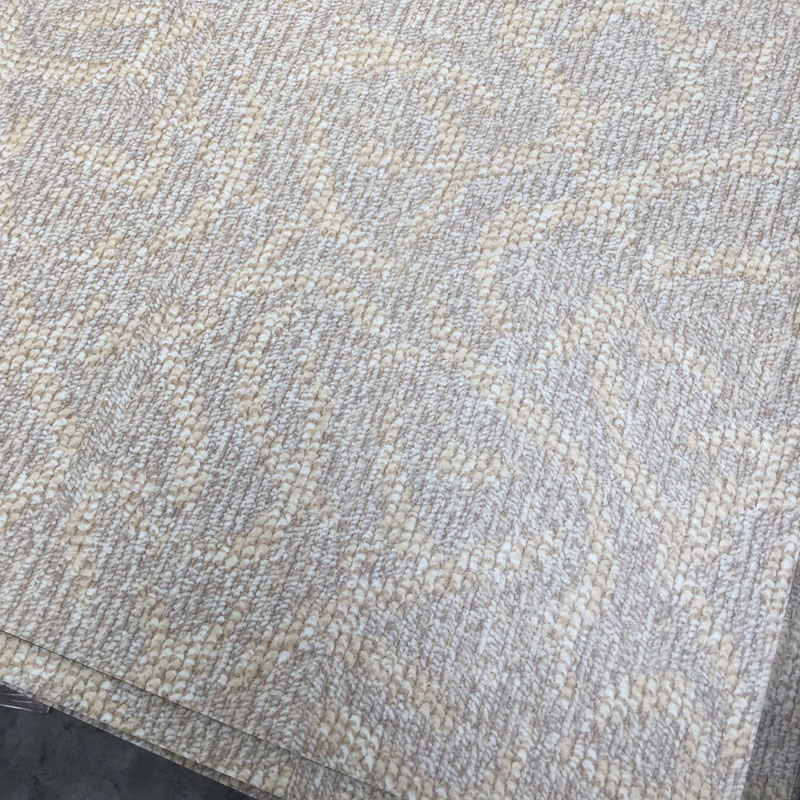 Carpet Grain PVC Vinyl Floor Tiles, 18′′x18′′ or 24′′x24′′