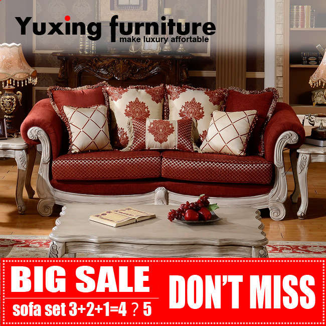American Classic Fabric Sofa Living Room Furniture Set