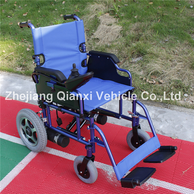 Portable Foldable Electric Wheelchair for Disabled with Ce