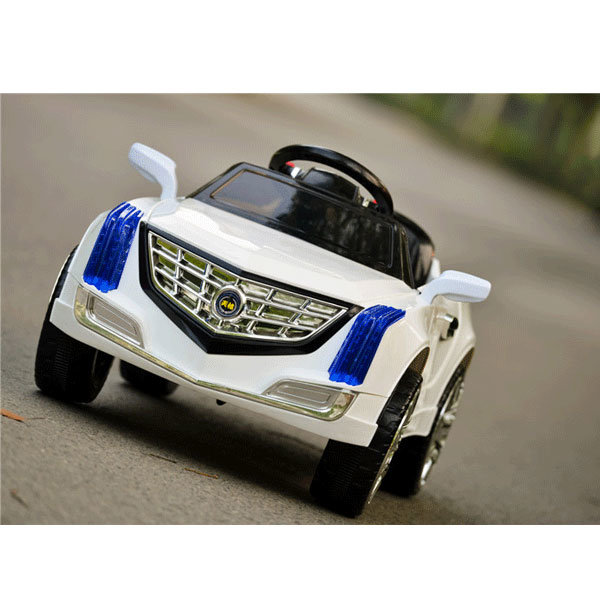 Electric Ride-on Boby Toy Car-White