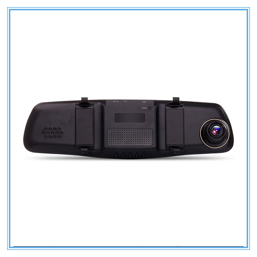 5.0 Inch FHD 1080P Rearview Mirror Car Dvrs with Dual Lens